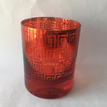 Hot Sale Laser Cut Glass Candle Holder
