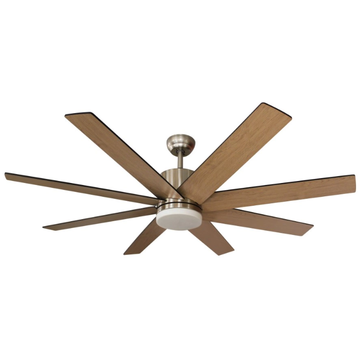 Eight Blades Ceiling Fan 52 inches
