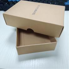 Custom two pieces kraft folding paper boxes