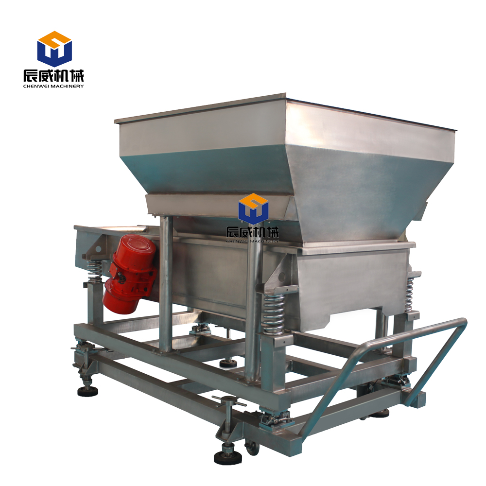 Low price vibration feeding machine in feed processing