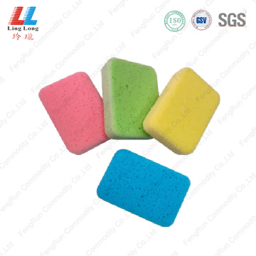 Smooth pretty car sponge cleaning