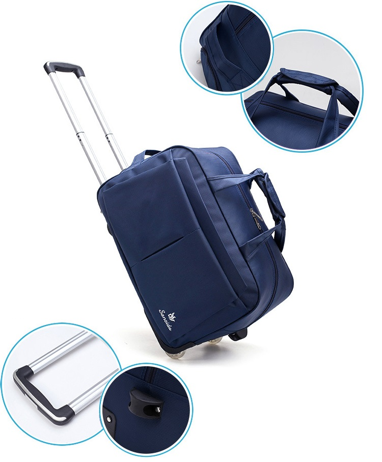 Hommization design trolley bag