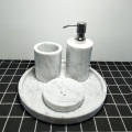 marble bathroom accessories set