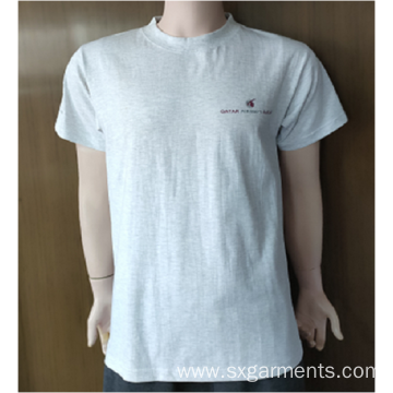 100%  Men's cotton t-shirt short sleeve