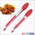 Spaghetti Salad Toast Barbecue BBQ Meat Long Flat Tongs