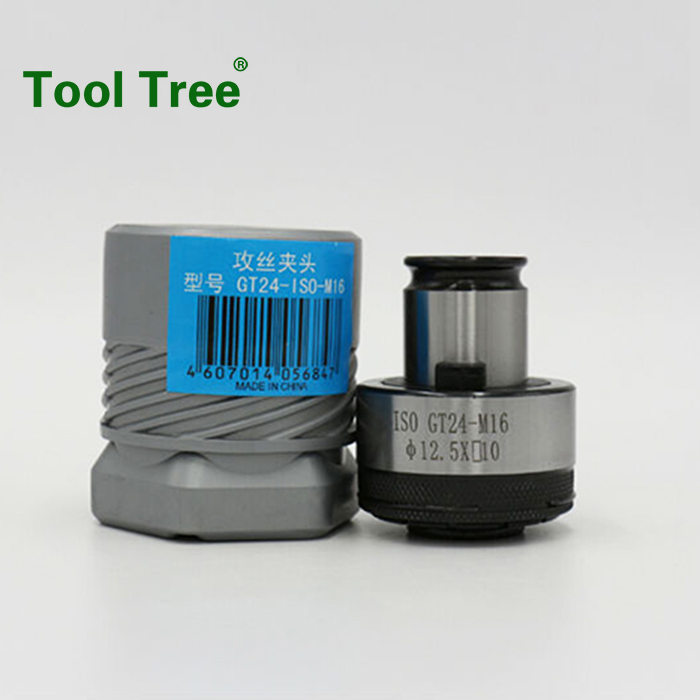 tapping collet for tool holder