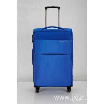 Wheeled Upright soft Suitcase