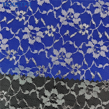 100% Nylon Fabric Tulle Lace Fabric for Wedding