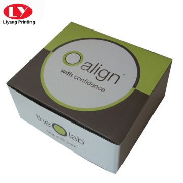 Cheap foldable corrugated paper box packaging