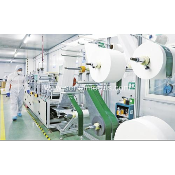 Automatic face mask machine double line