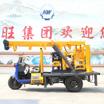 230m Tricycle Water Drilling Rig