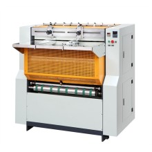 Semi-automatic cardboard slitter and grooving machine