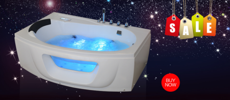 2 Person Whirlpool Bathtub