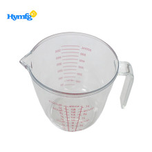 Kitchen Container with Handle Plastic Measuring Cup