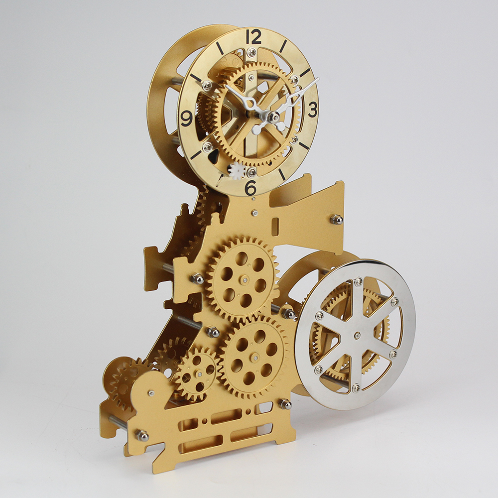 Cinematograph Gear Desk Clock