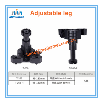 Kitchen adjustable legs for kitchen cabinet