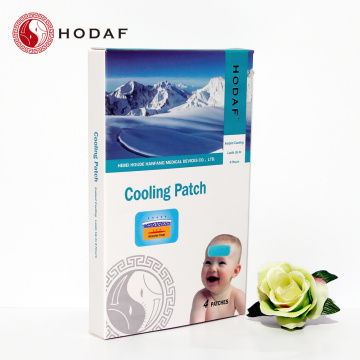 herb natural baby fever patch gel cooling patch