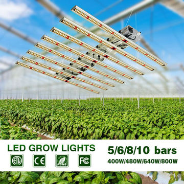 LED Grow Light Bar Strip Hydroponic Indoor