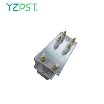 2500Hz Electric heating capacitors 130Kvar