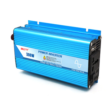 300W 12V24VDC to 110V220VAC Pure Sine Wave Inverter