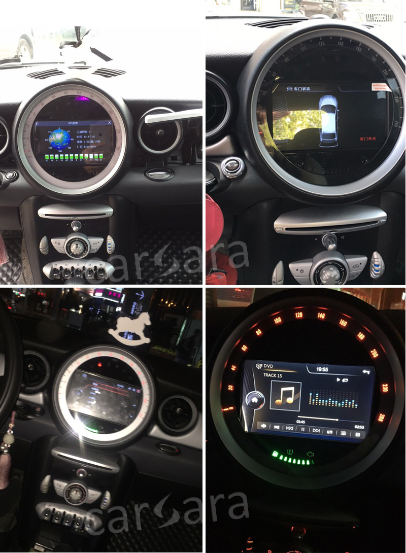 Carsara Android Mini Cooper 0711 After Installation