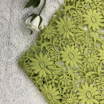 Jacquard Inforescence Chemical Lace Embroidery Fabric