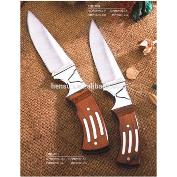 Rosewood Handle Small Hunting Knife
