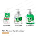 Eco-friendly Disinfectant 75% Alcohol Hand Sanitizer