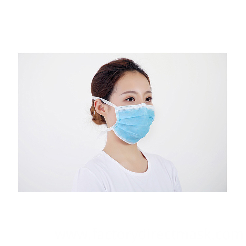 Disposable Medical Non Sterilized Face Mask Astm F2100 19