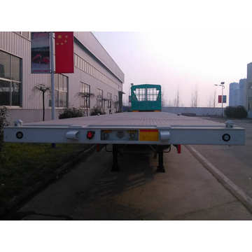 Truk Semi Trailer Rata 3 As