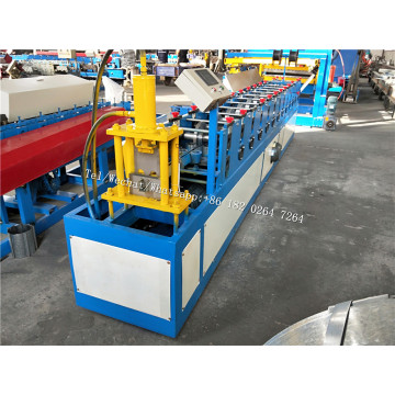 Sliding U Shape Door Guide Rail Forming Machine
