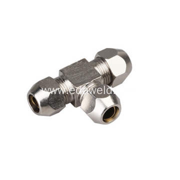 Sleeve Tee Brass Joint Fittings