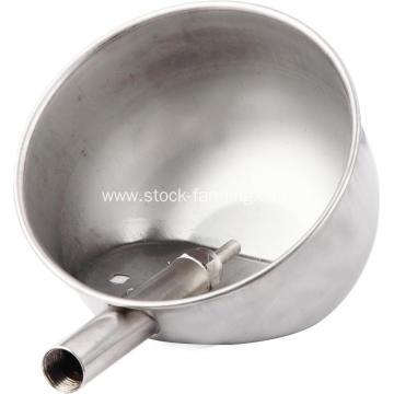 Stainless steel automatic water bowl for pigs