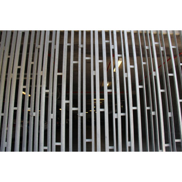 ASTM Galvanized Aluminium Alloy Building Screening Grating