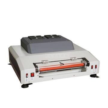 DC-330L-A Electric Paper Coating Machine Laminator 33cm Width Film Spraying Machine Photo Card Coating Film Laminating Machine
