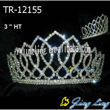 Wholesale cheap pageant crowns rhinestone princess tiaras
