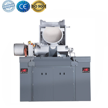 Small steel scrap melting furnace for