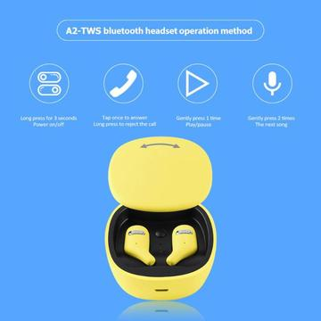 Wireless double bluetooth headset noise reduction