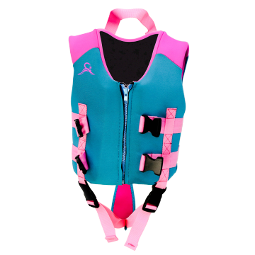 Seaskin Kids Girls Neorpene Swim Life Vest Jacket