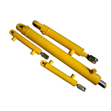 Stable single earring hydraulic cylinder