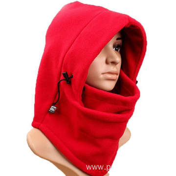 6 in1 balaclava hood face fleece neckwarmer