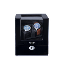 rotating watch winder case
