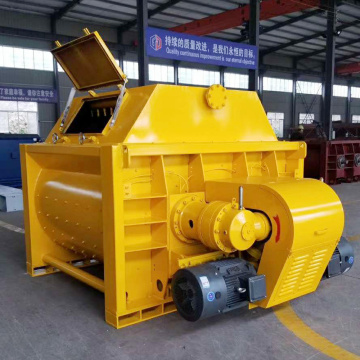 Lightweight twin shaft small concrete mixer machine