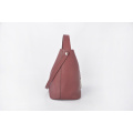 Minimalist Pure Color Female Fashion Bucket Drawstring Bag