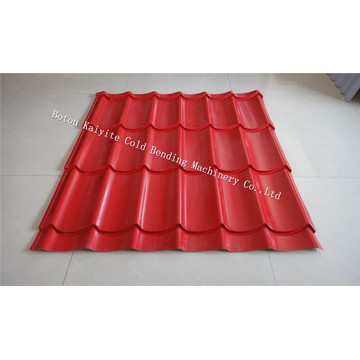 Africa Roof Panel Glazed Tile Roll Forming Machine