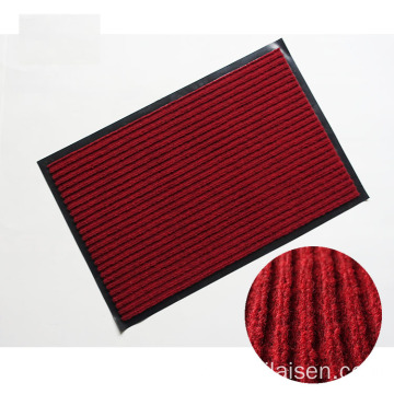 High performance double stripes surface polyester mat