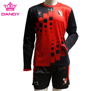 Long sleeve goal keepers soccer jerseys