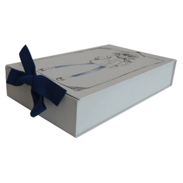Custom White Paper Underwear Box Packaging