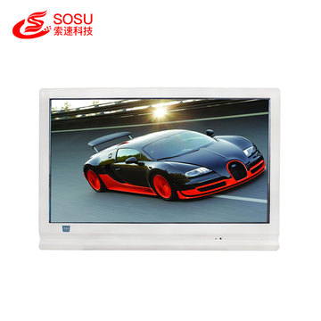 Transparent lcd exhibition advertising display showcase