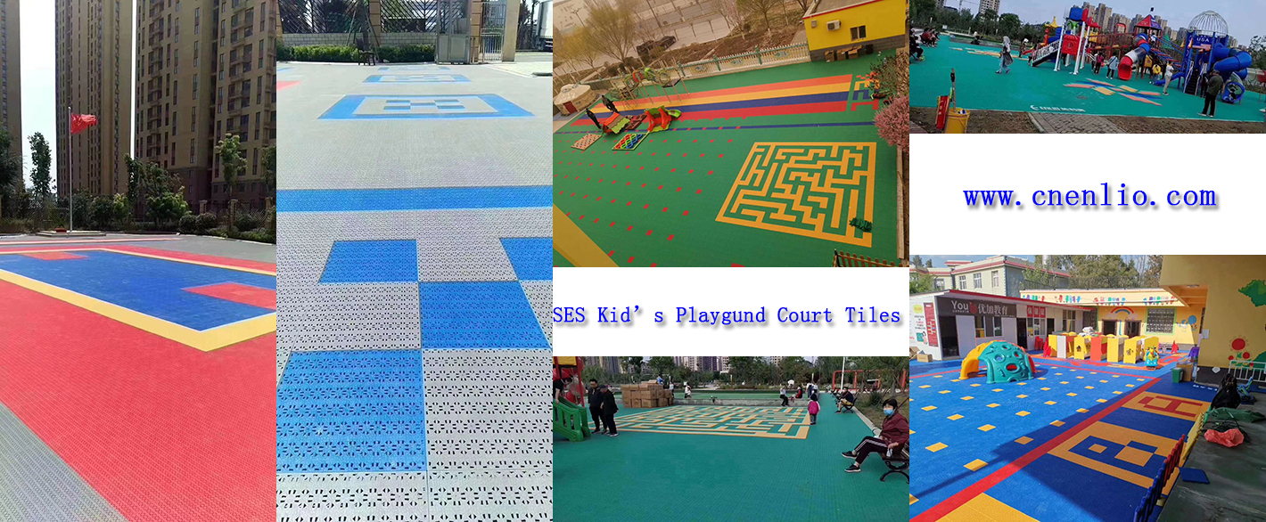 children playground tiles
